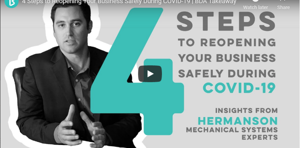 4 Steps to Reopening Your Business Safely Image