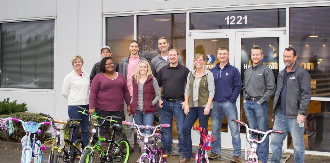 CEG Charity Bike Build Image