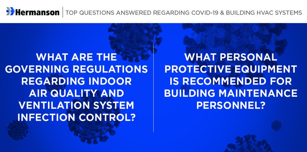 Part 1: Top Questions Answered Regarding COVID-19 & Building HVAC Systems Image