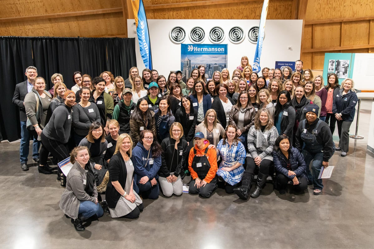 the women of hermanson hosted a networking event